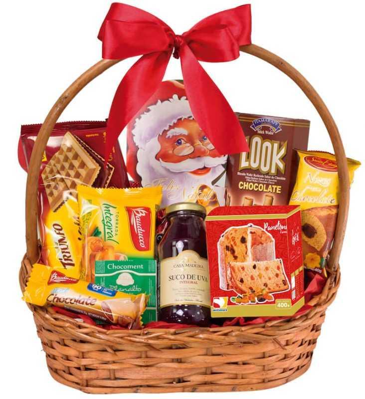 Fornecedores de cesta de natal para empresas