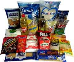 Cesta básica itens e quantidades