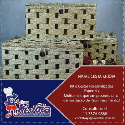 Fornecedores de cestas de natal