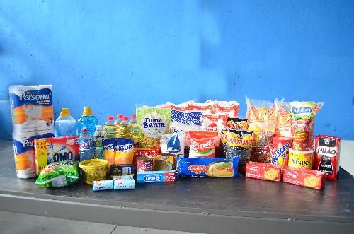 Venda de cesta básica em atacado